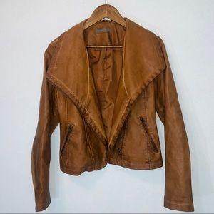 Batatelle vegan leather moto jacket